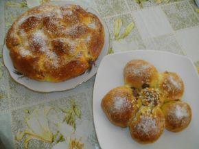 Снимка 3 от рецепта за Козунак и питки с кисело мляко