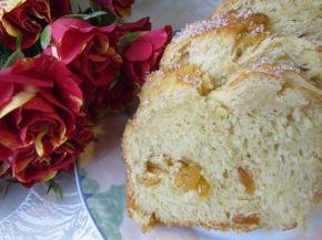 Снимка 5 от рецепта за Козунак за Великден със стафиди и портокалови корички