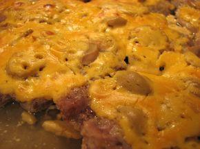 Снимка 3 от рецепта за Крехки пържоли с топено сирене на фурна