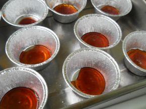 Снимка 3 от рецепта за Крем карамел с карамелена декорация