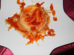 Снимка 7 от рецепта за Крем карамел с карамелена декорация