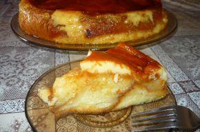 Снимка 2 от рецепта за Крем-карамелова торта с козунак