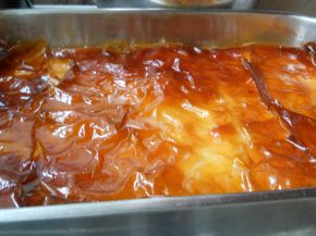 Снимка 2 от рецепта за Крем пита