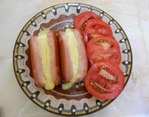 Снимка 4 от рецепта за Кренвирш с кашкавал