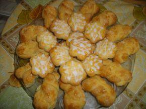 Снимка 6 от рецепта за Курабийки с лимонова глазура