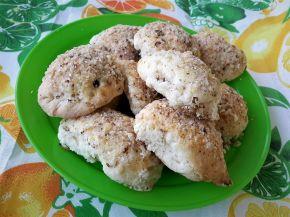 Снимка 4 от рецепта за Курабийки с орехи и мармалад