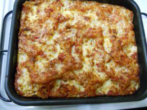 Снимка 2 от рецепта за Лазаня с гъби и топено сирене