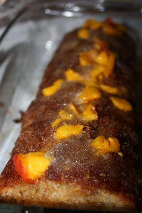 Снимка 5 от рецепта за Летен кекс с плодове (праскови)