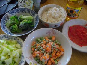 Снимка 2 от рецепта за Лятна запеканка