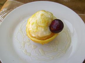 Снимка 2 от рецепта за Лимонов сладолед