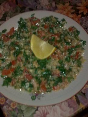 Снимка 2 от рецепта за Ливанска салата `Табуле`