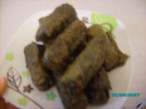 Снимка 2 от рецепта за Лозови сарми със стафиди