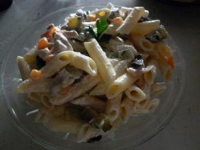 Снимка 2 от рецепта за Макаронена салата с пиле