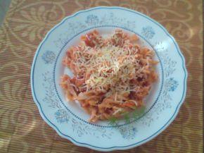Снимка 2 от рецепта за Макарони с доматен сос и розмарин