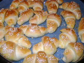 Снимка 2 от рецепта за Малки солени кифлички