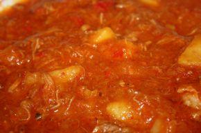 Снимка 3 от рецепта за Манджа с картофи и месо