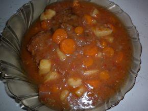 Снимка 2 от рецепта за Манджичка с печени кюфтенца