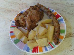 Снимка 7 от рецепта за Мариновани пилешки пържоли