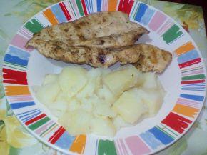 Снимка 8 от рецепта за Мариновани пилешки пържоли