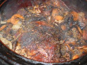 Снимка 3 от рецепта за Мариновано агнешко в гювеч