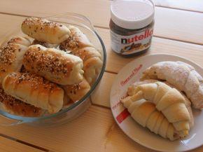Снимка 6 от рецепта за Маслени кифлички с ябълков пълнеж