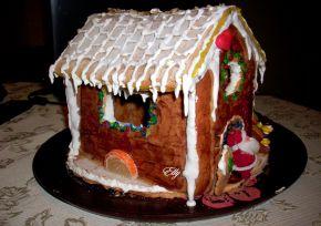 Снимка 6 от рецепта за Медена коледна къщичка