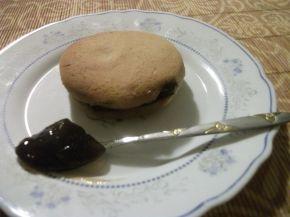 Снимка 5 от рецепта за Меденки с шипков мармалад