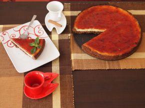 Снимка 2 от рецепта за Ментов чийзкейк