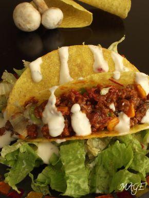 Снимка 2 от рецепта за Мексикански такоси с телешка кайма