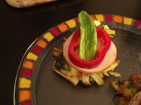 Снимка 2 от рецепта за Мини картофени палачинки с пилешко месо