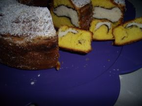 Снимка 2 от рецепта за Мраморен кекс