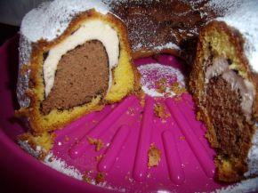Снимка 7 от рецепта за Мраморен кекс