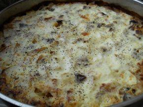 Снимка 2 от рецепта за Мусака от картофи, гъби и кайма