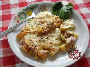 Снимка 3 от рецепта за Мусака от картофи, гъби и кайма