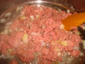 Снимка 4 от рецепта за Мусака от макарони с кайма