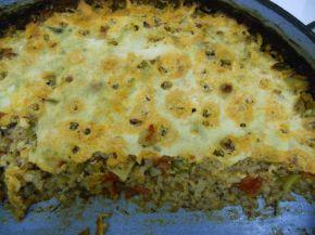 Снимка 3 от рецепта за Мусака от ориз и зеленчуци