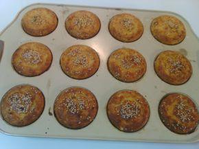 Снимка 2 от рецепта за Мъфини с бяло и царевично брашно
