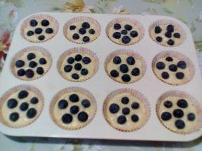 Снимка 4 от рецепта за Мъфини с боровинки