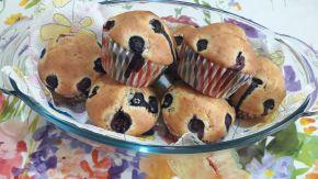 Снимка 7 от рецепта за Мъфини с боровинки