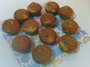 Снимка 2 от рецепта за Мъфини с какао и ментов шоколад