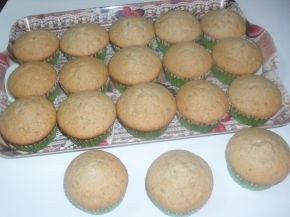 Снимка 2 от рецепта за Мъфини с орехови и кайсиеви ядки