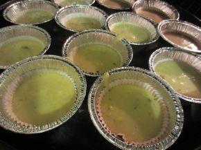 Снимка 7 от рецепта за Мъфини с помело, мандарини и шоколад