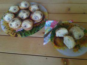 Снимка 2 от рецепта за Мъфини с рикота, банани и натрошени бадеми