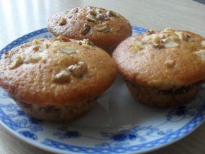 Снимка 2 от рецепта за Мъфини със сладко, двойно печени