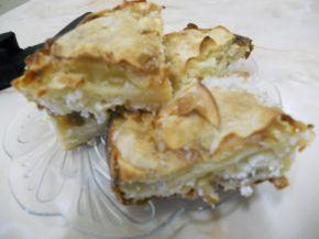 Снимка 4 от рецепта за Наложена баница със сирене и лимонада
