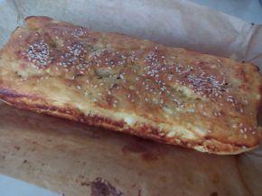 Снимка 5 от рецепта за Намачкана баница с бакпулвер в терин
