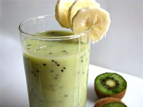 Снимка 1 от рецепта за Напитка от киви и банан