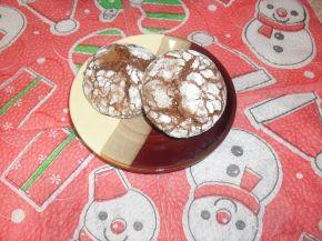 Снимка 2 от рецепта за Напукани сладки с нес кафе