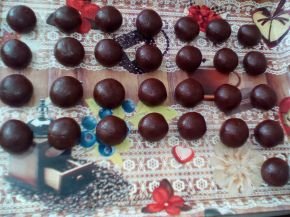 Снимка 4 от рецепта за Напукани сладки с нес кафе