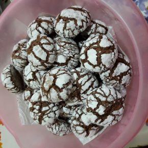Снимка 3 от рецепта за Напукани сладки за Коледа и Нова година